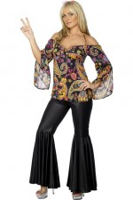 1960's Hippie Female Costume (Rental)