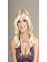 70's Disco Doll Wig