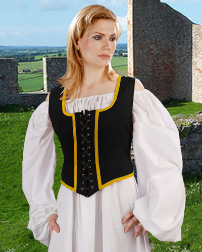 Reversible Wench Bodice Kostume Room