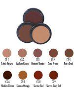 Crème Brown Shadows (Ben Nye)