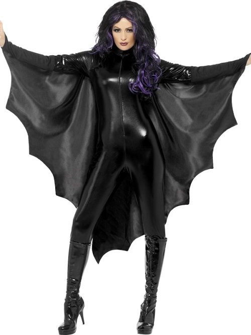 Cape with bat wings