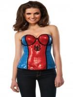 Spidergirl Sequined Corset