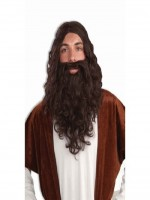 Biblical Wig and Beard