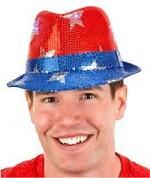 Fedora Patriotic Hat