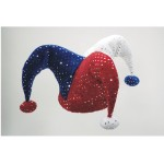 Jester Patriotic Sequin Hat