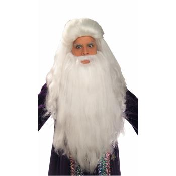 Sorcerer Wig & Beard Set