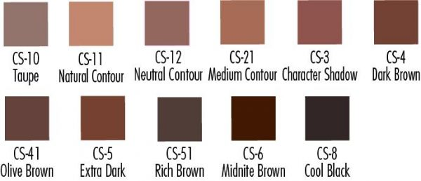 creme shadows,creme brown shadows,ben nye brown shadows,kostumeroom,kostume room,costumeroom,costume room,ben nye