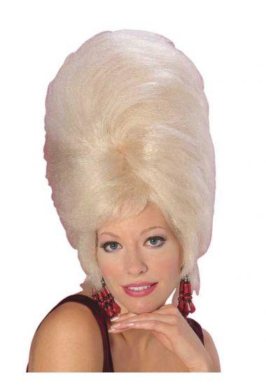 beehive 60's wig