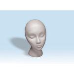 Styro Foam Mannequin Head