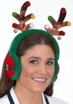 Antler Headband w/Ear Muffs