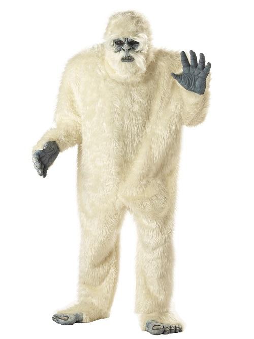 abominable snowman,snowman,christmas,kostumeroom