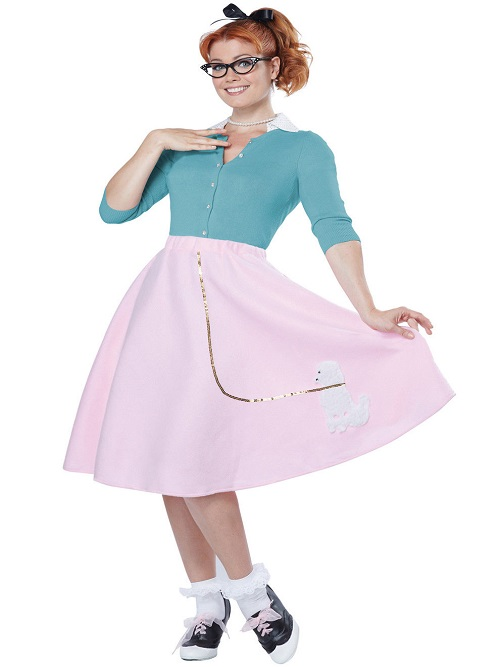 poodle skirt,50's skirt,grease,kostumeroom