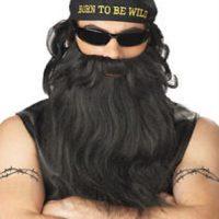 Biker Beard & Mustache