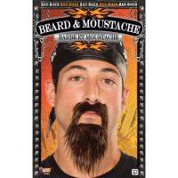 Bad Biker Beard and Mustache