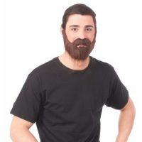 Brown Beard & Mustache