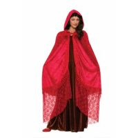 Ruby Elegant Cape (Rental)