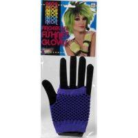 Fishnet Short Fingerless Gloves