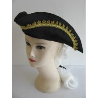 Colonial Hat with attached Wig