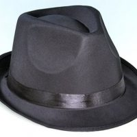 Fedora Satin Hat