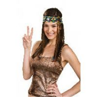 Hippie Headband with peacesign