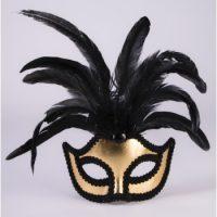Masquerade Feather Mask