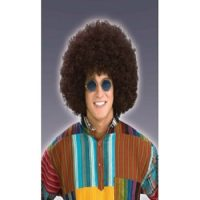 Afro Brown Wig