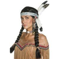 Native Female Indian Wig