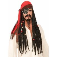 Pirate Headscarf with wig
