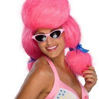 Poodle Pink Wig