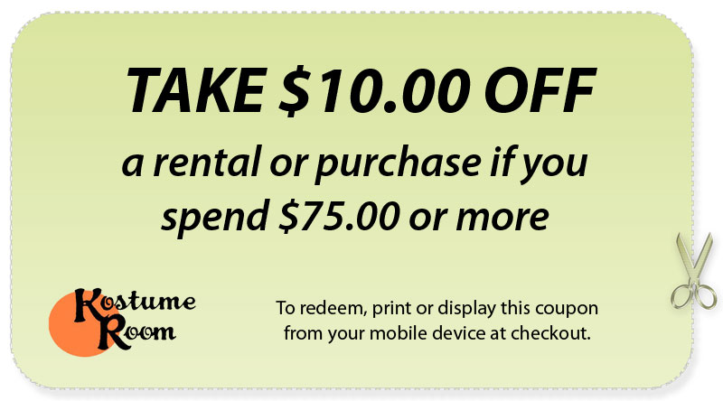 kostume room coupon 10 dollars off