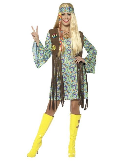60's hippie,70's hippie,smiffys,kostume room,costume room