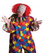 Clown Mask with Wig