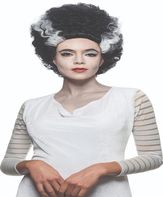 frankenstein wig,bride of frankenstein wig,kostumeroom,kostume room,costumeroom,costume room,rubies