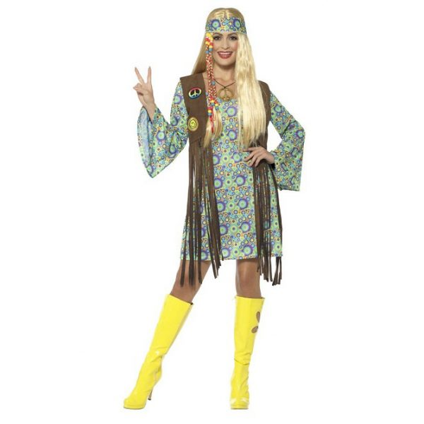 60s hippie chick costume