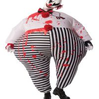 Inflatable Evil Clown