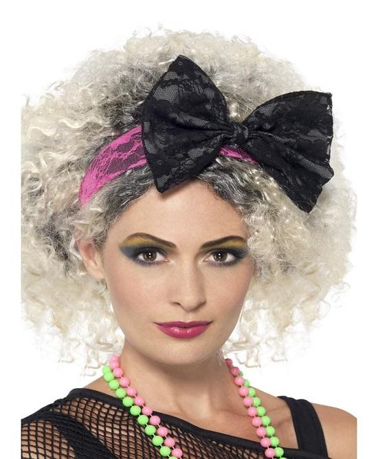 80's,1980's,lace headband,80's lace headband,kostumeroom,kostume room,costumeroom,costume room,smiffys