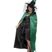 Witch Green Cape