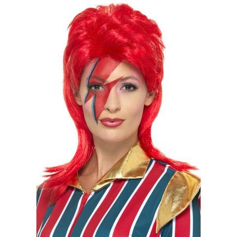 spacestar wig,mullet wig,clown wig,kostumeroom,kostume room,costumeroom,costume room,smiffys