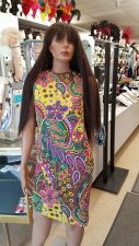 60's-70's Paisley Dress (Rental)
