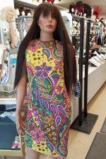 60's-70's Paisley Dress (Rental)