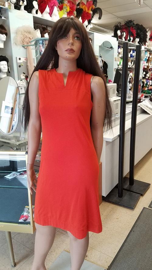 vintage dress,orange vintage dress,60's 70's dress,kostumeroom,kostume room,costumeroom,costume room