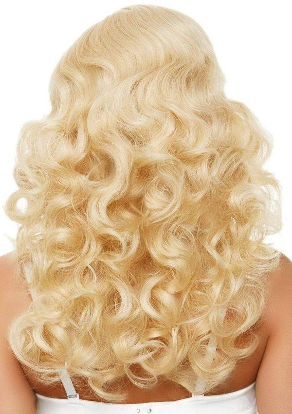 bombshell back of wig,1940's wig,1950's wig,kostumeroom,kostume room,costumeroom,costume room,leg avenue
