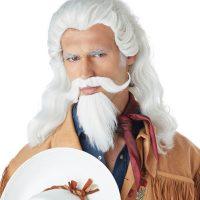 Buffalo Bill Wig and Beard Set