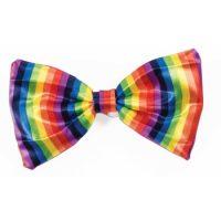 Rainbow Bow Tie