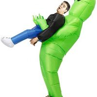 Inflatable Alien Abduction Costume