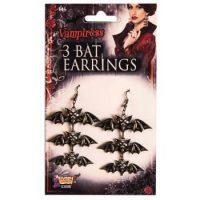 Bat Vampire Earrings
