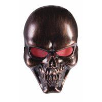 Bronze Skull Mask