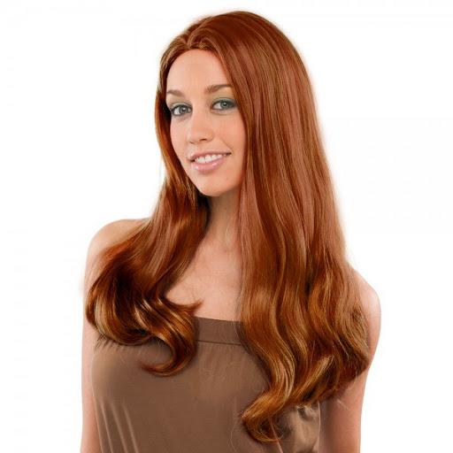 ashley wig,long straight auburn wig,no bang wig,kostumeroom,kostume room,costumeroom,costume room,westbay