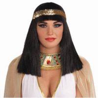 Cleopatra Wig w/Headband