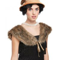 20's Kit-Hat and Fur Shawl